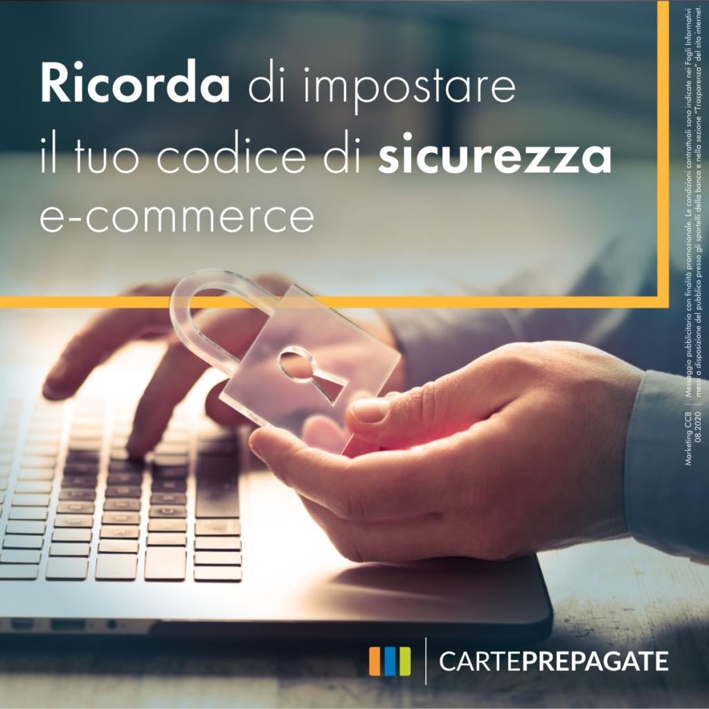 Sicurezza e-commerce Prepagate